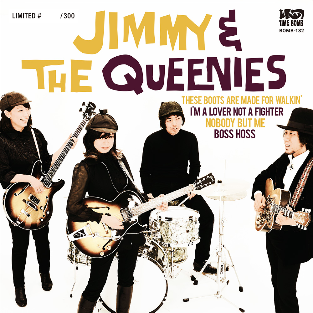 JIMMY & THE QUEENIES 7″ EP